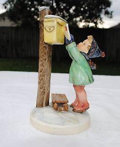 """Hummel """"Letters to Santa"""" Figurine 340 1957"""