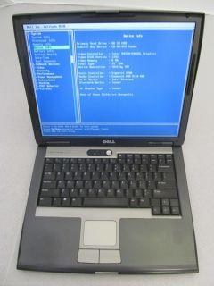 Dell Latitude D520 Intel Core Duo 1 66GHz 1GB Memory 80GB Hard Drive WiFi