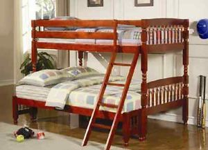 Bunkbed Children Kids Furniture New CLEARANCE Twin Boys Girls Bed Bedding