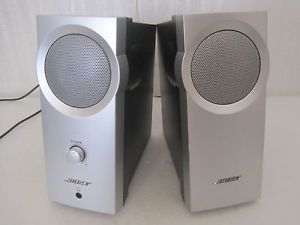 bose grey speakers. bose companion 2 computer speakers missing audio cable ac cord silver grey
