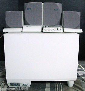 Altec Lansing ADA885 Computer Speakers Powered Sub Lucasfilm THX Cert V Cool
