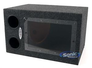 "Ground Shaker BPR112 12"" Single Regular Bandpass Subwoofer Sub Enclosure Box"
