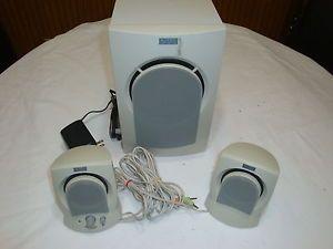 Altec Lansing Computer Speaker System Powered Subwoofer AVS300