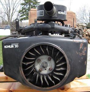 Rebuilt Kohler Magnum M20 Engine Simplicity Sunstar Motor 20HP