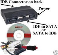 Bi Directional SATA IDE PATA Serial ATA SATA2 HD CD DVD Cable Cord Wire Adapter