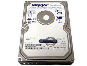 "Maxtor 5A320J0 320GB 2MB Cache ATA 133 IDE PATA 3 5"" Desktop Hard Drive 683728183974"