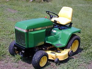 John Deere Lawn Tractor 48