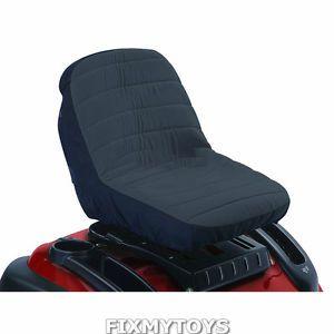 "12"" Black Seat Cover Lawn Mowers Garden Tractor Cub Cadet John Deere Exmark Toro"
