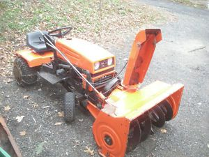 Ariens YT11 Riding Lawn Mower and Snow Blower Tractor Sno Trower Combo