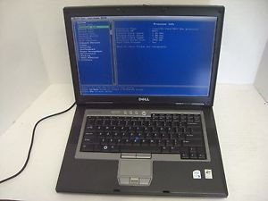 Dell Latitude D820 Intel Core 2 Duo Laptop 2048MB DVDRW Fingerprint Reader