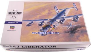"Hasegawa 1 72 B 24J ""Cocktail Hour"" Liberator Nose Art Model Kit Book Set"