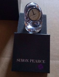 Simon Pearce Barre Mini Clock