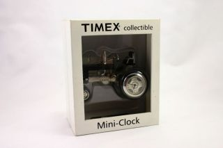 Vintage Timex Collectible Tractor Miniature Clock