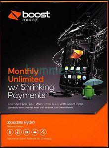 Kyocera Hydro 2GB Black Boost Mobile Smartphone 067215021565