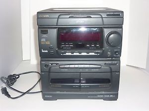 Aiwa Stereo System CX N3500C 3 CD Compact Disc Cassette Deck Missing Speaker