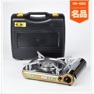 Outdoor Gas Burner Stove Butane Heater Cooker Grill Cooking Camping Portable