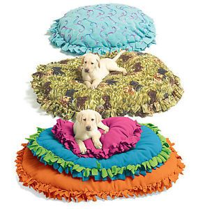McCalls Sewing Pattern M5410 Pet Dog Fleece Beds No Sew Easy 3 Sizes s M L