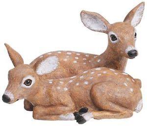 Realistic Look Deer Garden Sculpture Statuary Statue Yard Patio Outdoor Decor