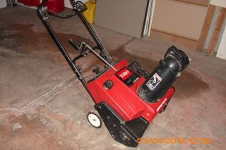 Toro CCR 2000 Gas Snowblower Snow Blower Pull Start