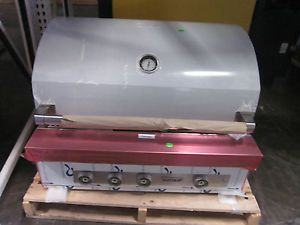 """Wolf OG36 36"""" Built in Stainless Natural Gas Outdoor BBQ Grill"""