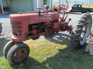 1943 IH Farmall H Tractor International Harvestor Vintage Antique Restore Gas FB