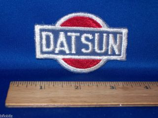 "Datsun Japanese Imported Car Vintage '70s 3"" Logo Patch"