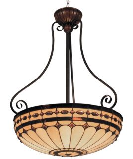 Tiffany Style Stained Glass Hanging Pendant Lighting