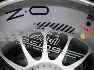 Red Bull Race Used F1 Rear Wheel Coffee Table Vettel Webber Formula 1 COA