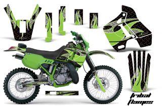 Kawasaki KDX200 Graphic Kit AMR Racing Bike Decal Sticker Part KDX 200 89 94 TF