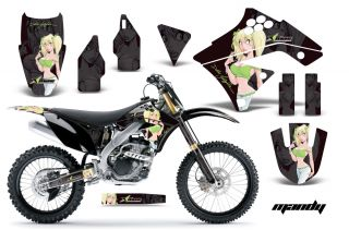 AMR Racing Dirt Bike Motocross Graphic Sticker Wrap Kawasaki KXF 250 09 12 MGK
