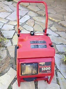 Generac Wheelhouse 5500 Briggs and Stratton Heavy Duty