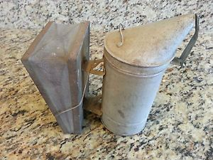 Vintage Bee Hive Sprayer Duster Smoker Fogger Antique Pest Control Tool