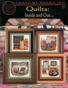 Quilts Inside and Out Counted Cross Stitch Patterns of Quilts