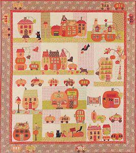 Bunny Hill Quilt Pattern Pumpkinville Great Fall Bom Quilt Pattern