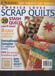 McCalls Quilting Scrap Quilts Winter 2011FREE Pattern