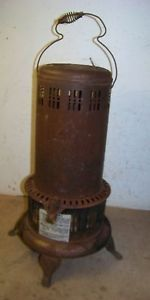 Old Perfection Model 525 M 1 Kerosene Oil Heater Parlor Stove Plant Stand