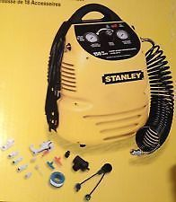 Stanley 1 5 Gal 150 PSI Portable Air Compressor Set 18 New