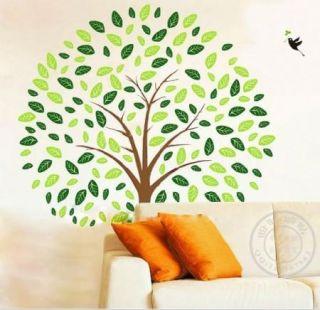 Tree Bird Removable Wall Vinyl Sticker Decal Baby Kid Nursery Room Home Decor