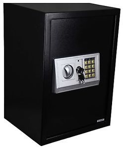Digital Electronic Safe Safety Security Lock Box for Home Office Black 35B