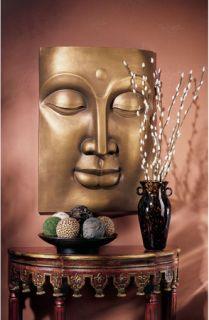 Traditional Asian Calming Buddha Wall Frieze Contemporary Sculpture