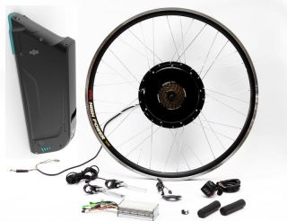 500W Motor 36V 13AH Lithium ion Battery Electric Bicycle E Bike Conversion Kit