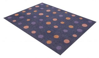 "Flor Disco Fever Area Rug Tile Kit 6' 5"" x 5' 12 Tiles of 19 7"" x 19 7"""