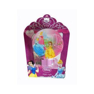 Disney Princess Night Light Cinderella Aurora Belle