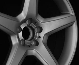 "18"" AMG Style Staggered Wheels 5x112 Gun Metal Rim Fits CLK Class 350 550"