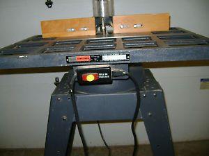 Craftsman Wood Shaper Model Number 113 239390