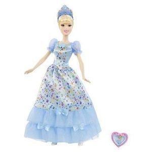 Disney Princess Happy BirthDay Cinderella Barbie Doll   Sings To You