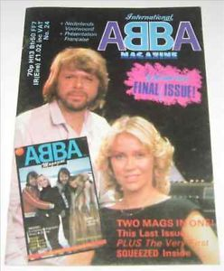 ABBA International Magazine Number 24 Agnetha Faltskog