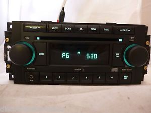 Dodge Chrysler Jeep Radio