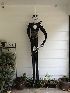 Jack Skellington 6ft Tall Hanging Decoration Nightmare Before Christmas