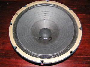 Weber 10N150 Neodymium Guitar Speaker 8 Ohm 25 Watt RARE Early Production Ted